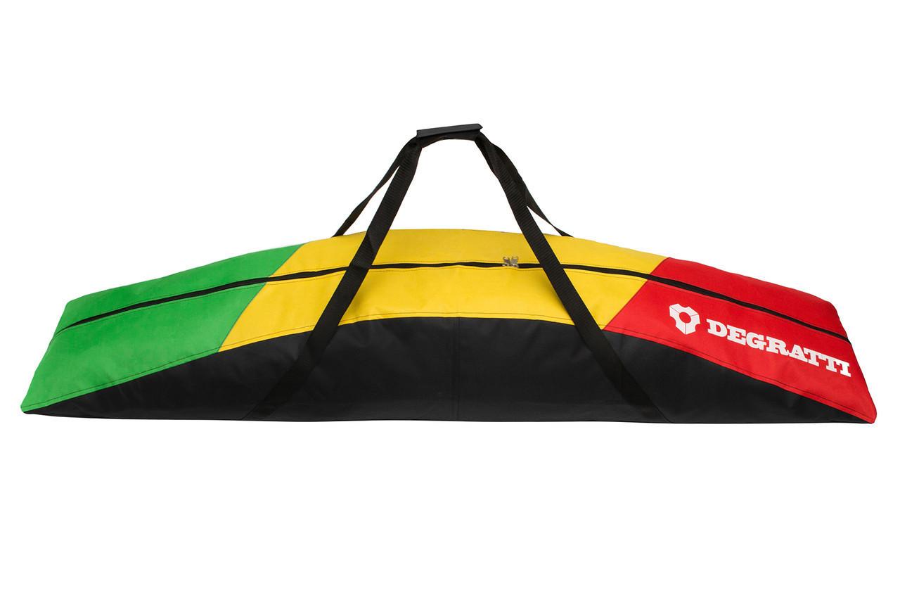 Чохол для сноуборда Degratti Board 140 Green-Yellow-Red (Board_140_Grn-Yel-Red)