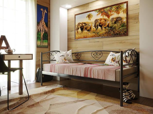 Кровать металлическая DARINA LUX (Дарина люкс), кровать-диван, фото 2
