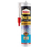 Герметик силиконовый Moment санитарный, 280 мл., прозр