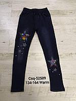 Лосины под джинс утепленные для девочек, Seagull, 134,152,158,164 см,  № CSQ-52509