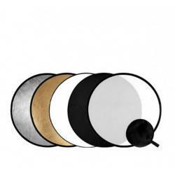 56 см Відбивач для фото 5 в 1 RD-024 gold-silver-black-white-translucent Visico