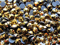 Стразы DMC ss10 Gold Hematite (2,7-2,8мм)горячей фиксации. 1000шт.