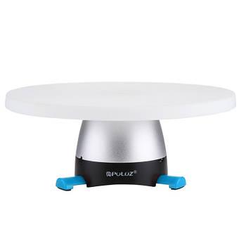 Ø18см/max-1кг Поворотный 3d стол для предметной съемки фото / видео, панорамный Puluz PU364Lblue