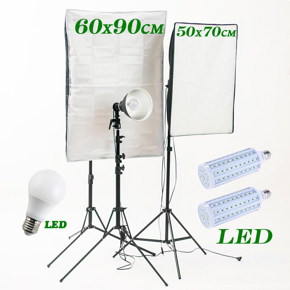 1400Вт Полупрофессиональный комплект постоянного света Youtube Kit 5769PLL LED, 5500К