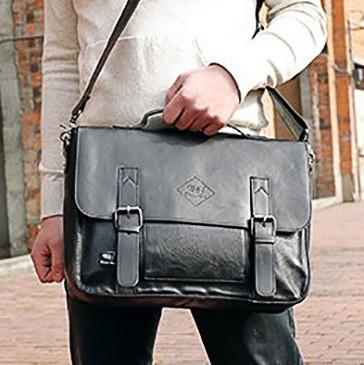 Мужская кожаная сумка-портфель. Модель с5