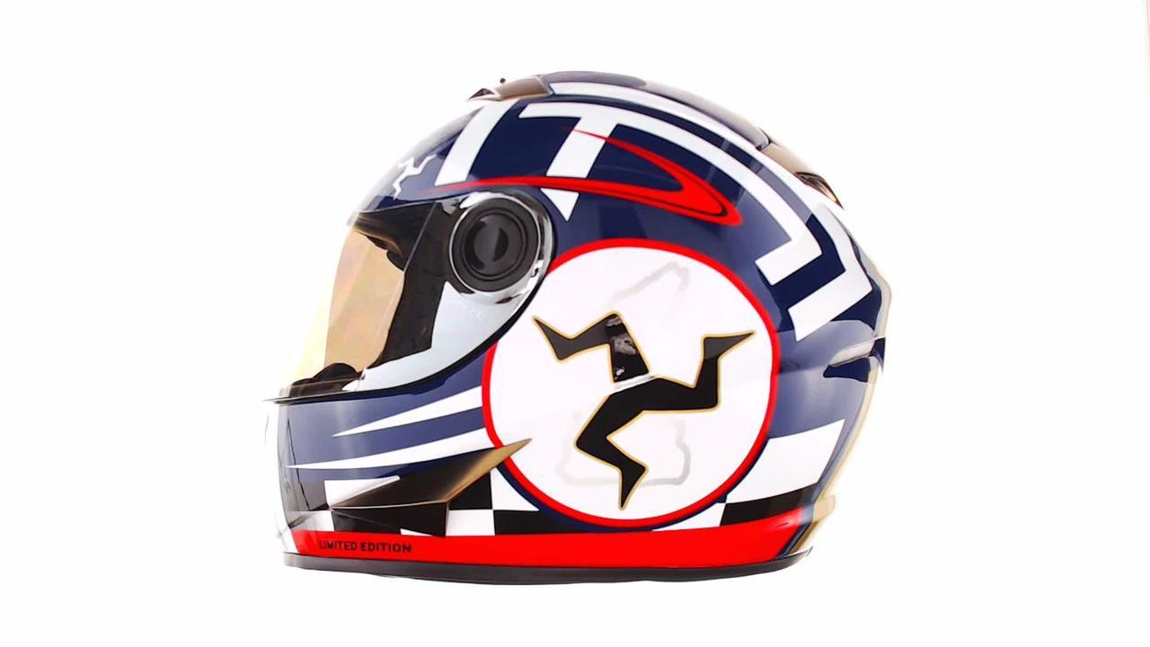 Мотошлем, Мотоциклетный шлем Интеграл (full-face) (mod:B-500) (Размер:M, черно-красно-белый) BEON