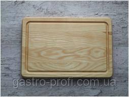 Доска для подачи блюд с бортом Ясень, фото 2