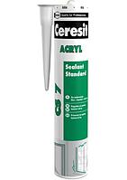 Герметик акриловый Ceresit CS 7, 280 мл., белый