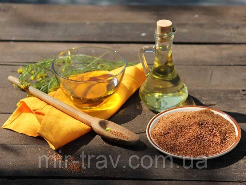 Масло семян рыжея ( рыжиковое масло)