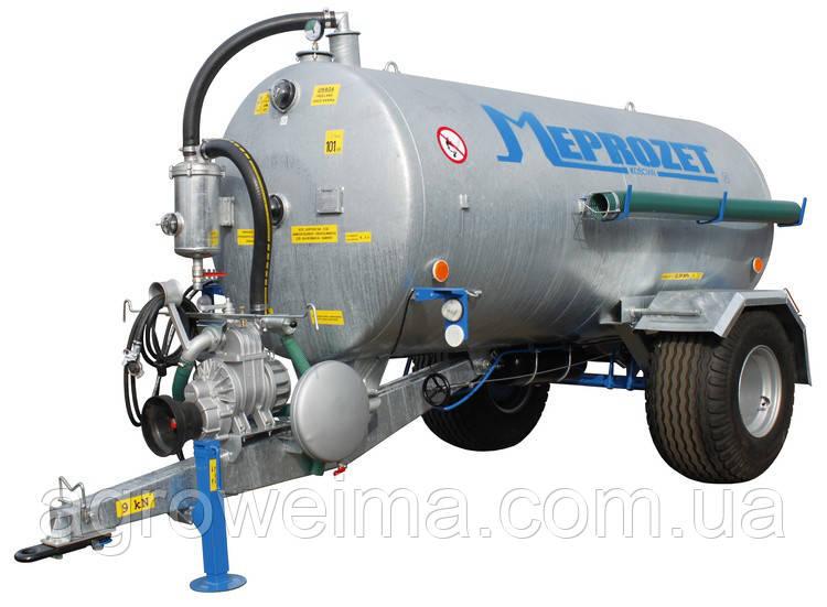 Ассенизационная машина PN-40/2 Meprozet (4350 л, оцинкованная)