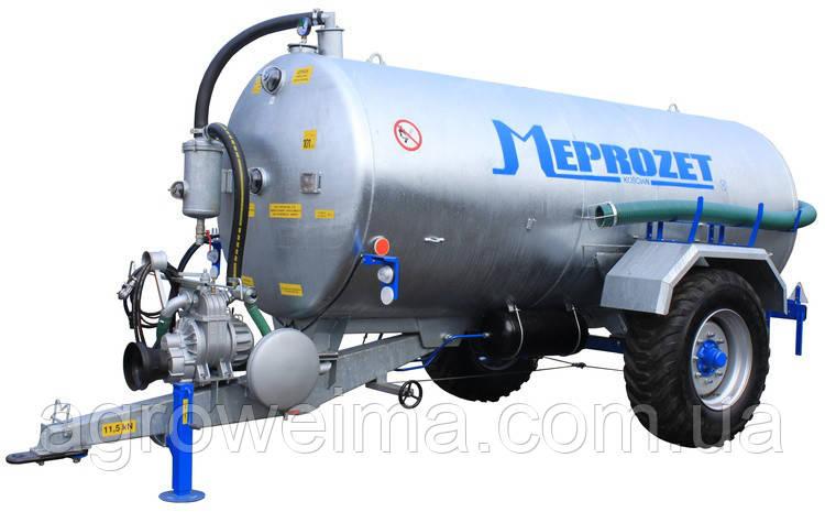 Ассенизационная машина Meprozet PN-60/3 (6060 л, оцинкованная)