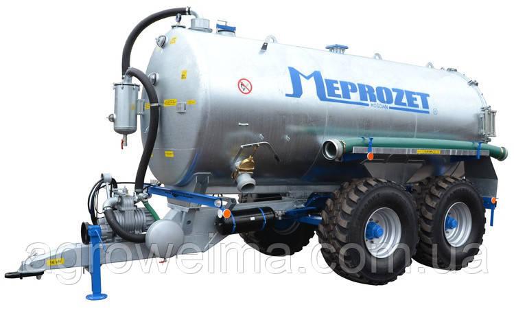 Ассенизационная машина Meprozet PN-1/12А (12300 л, оцинкованная)