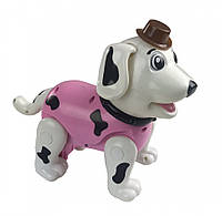 Собака игрушка робот для девочек на пульте  розовая