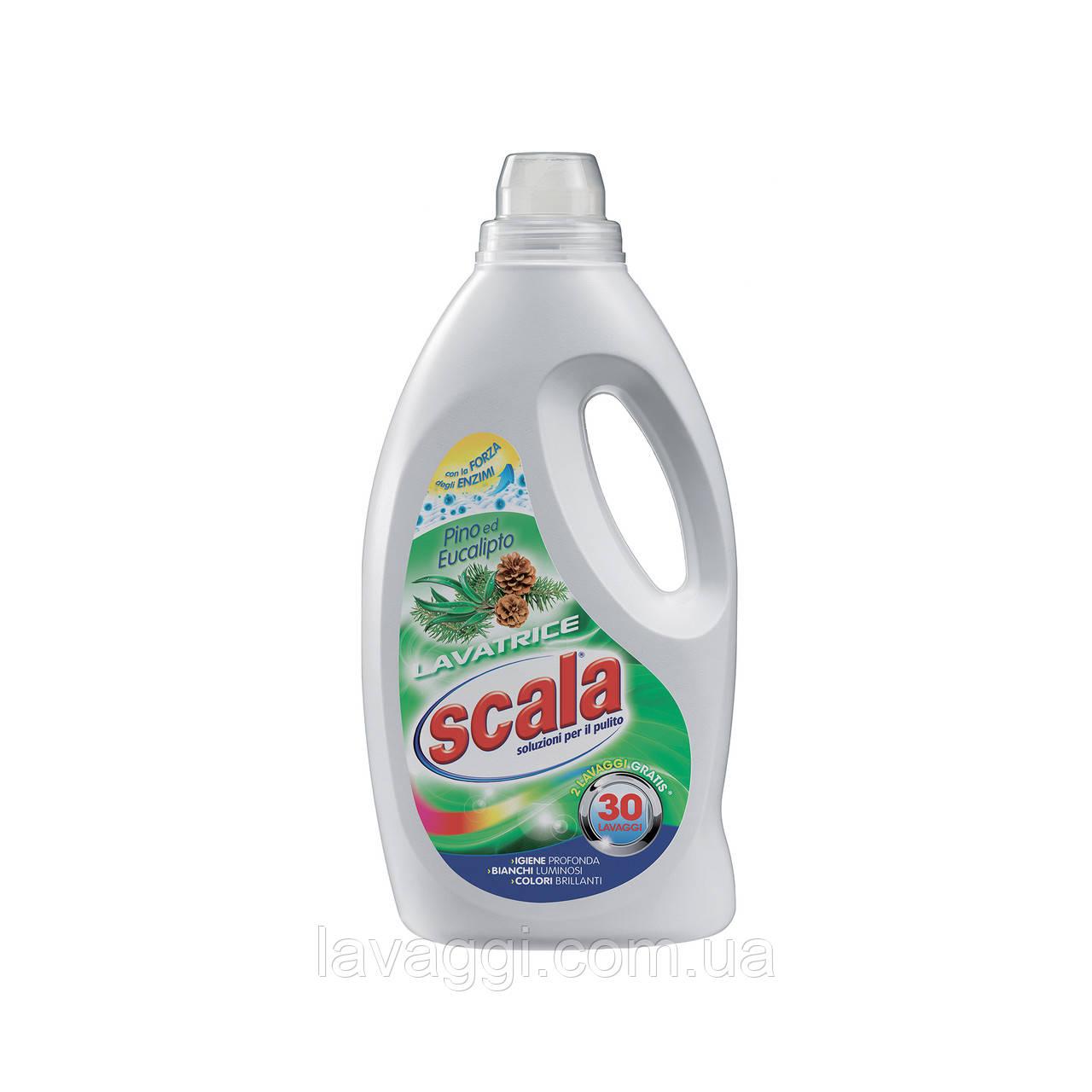 Гель для прання Scala Lavatrice Pino e Eucalipto 1,5 L