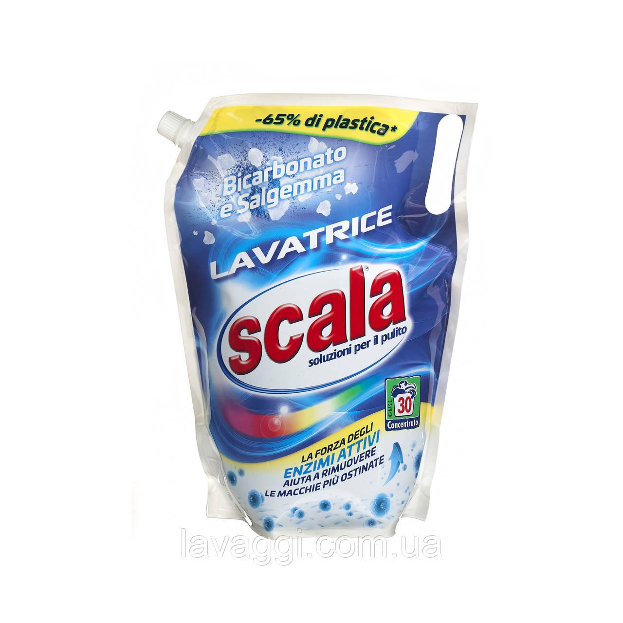 Гель для стирки (дойпак) Scala Lavatrice Bicarbonato e Salgemma 1,5L