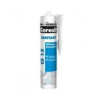 Герметик силиконовый Ceresit (CS15) CSSTR UA санит., 280 мл., белый.
