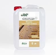 MultiChem. Олія для деревини ConWood TungOil, 5 л. Масло тунгово-льняное для древесины., фото 1