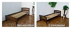 """Односпальная кровать из натурального дерева от производителя """"Марта"""", фото 3"""