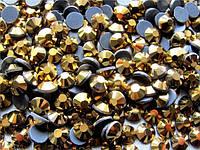Стразы DMC ss30 Gold Hematite (6,4-6,6мм)горячей фиксации. 200шт.