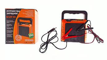 Зарядное устройство для Мото аккумулятор АКБ (Аккумулятор на скутер, мотоцикл, мопед) 12/12В (V) 4А/ч (LED- индикаторы) LVT