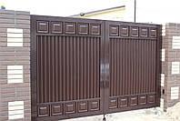 Автоматические ворота 3000 на 2000 ТМ Хардвик (дизайн ЛЮКС), фото 2