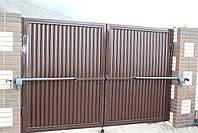 Автоматические ворота 3000 на 2000 ТМ Хардвик (дизайн ЛЮКС), фото 4