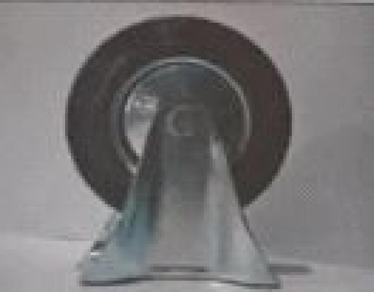 Колесо для тачек и платформ (литая резина) (в сборе с креплением, прямое) (160/40-80мм) MRHD