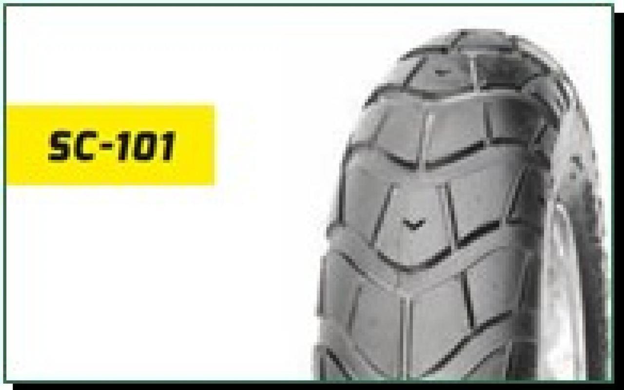 Мотошина, Моторезина, Мотопокрышка, Покрышка, Шина 130/60 -13 TL (SC-101 TL DELITIRE,бескамерная) LTK