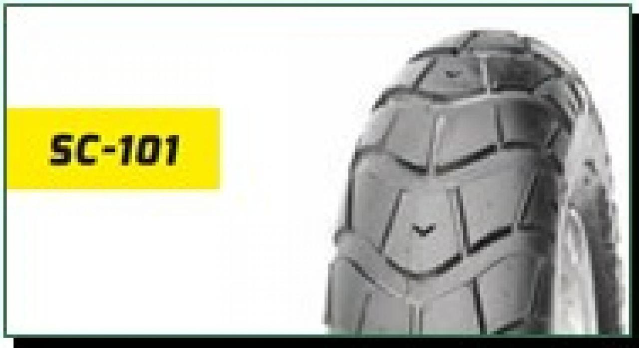 Мотошина, Моторезина, Мотопокрышка, Покрышка, Шина 3,00 -10 ТL (SC-101 DELITIRE, бескамерная) LTK