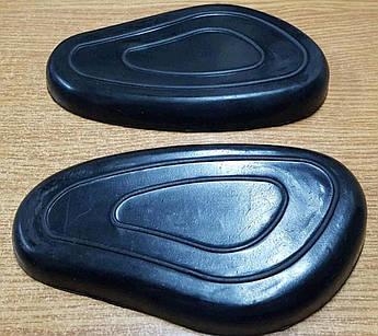 Накладки бака (пара) (резина) (черные) К-750, М72