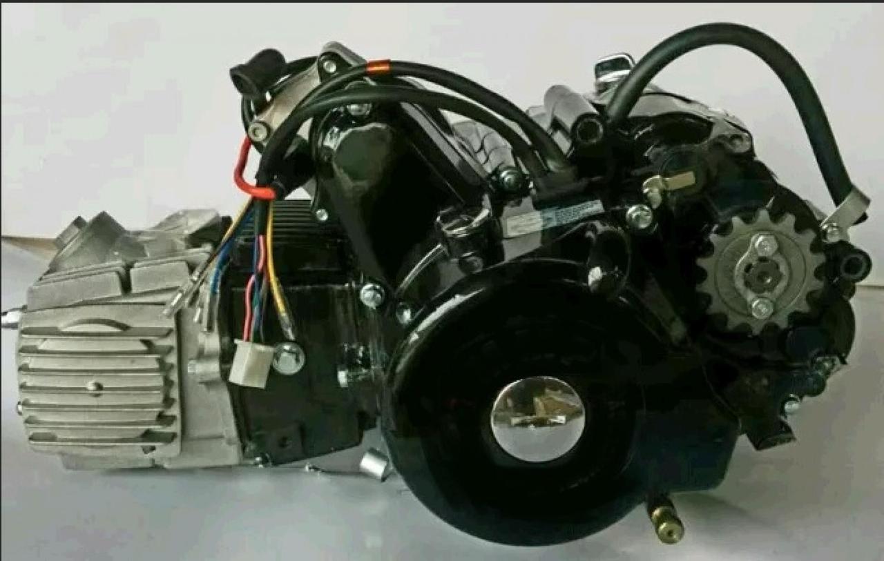 Двигатель (В сборе)  на Мопед Дельта (Deltа), Вайпер Актив (Viper Activе) 110 см³ (Механическая коробка