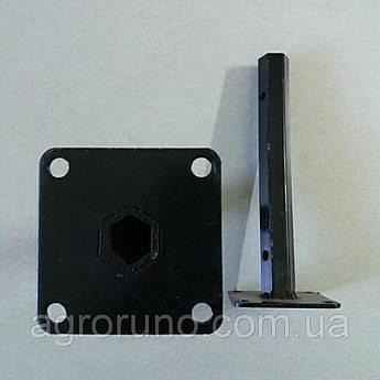 Шестигранная полуось, ступица на мотоблок (D-24мм, L-270мм) ST