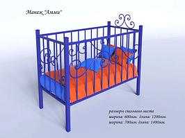 Кровать-манеж 140х70 Амми Тенеро