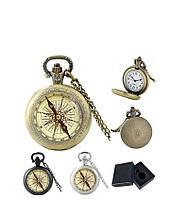 Карманные часы Компас направлен на север