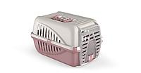 Переноска для домашних животных котов Panzer бежевый розовый