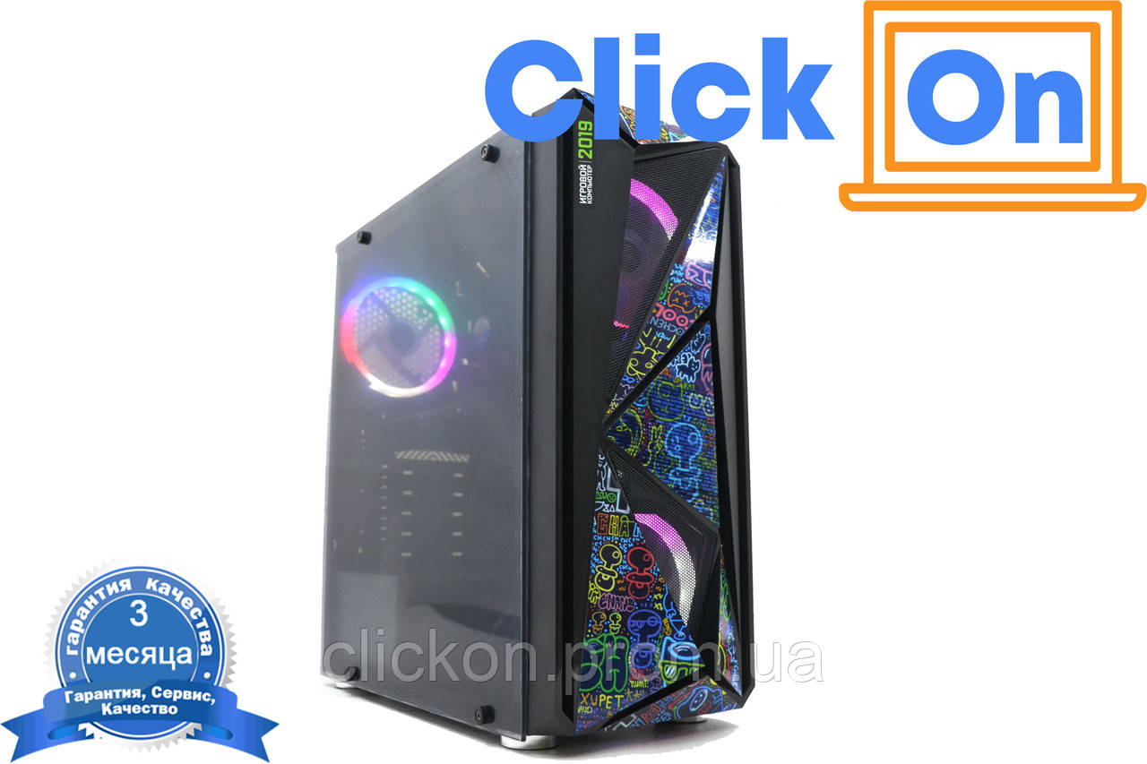 Игровой компьютер Core i5-3470/8gb/ssd240gb/GTX 1060/Гарантия 6 месяцев!