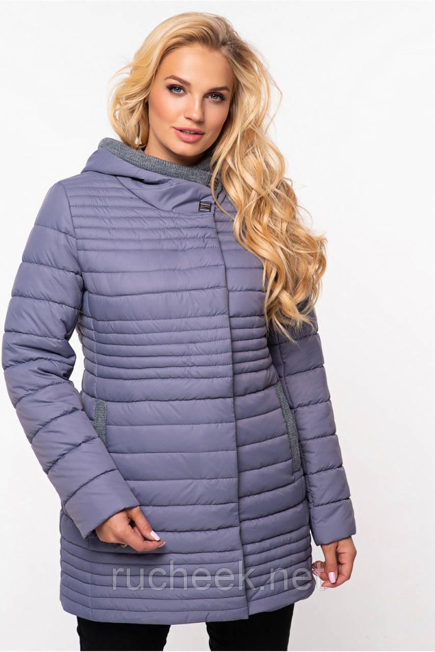 Женская куртка Розалия размер 52 серый,  TM NUI VERY