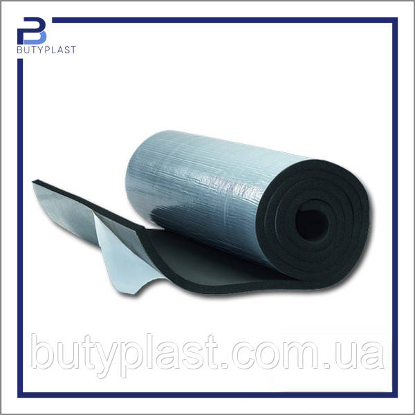 Шумоизоляция 6 мм, каучук Софт