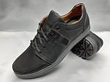 Стильные комфортные нубуковые кроссовки Madoks, фото 3