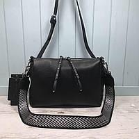 Женская сумка на три отделения Farfalla Rosso