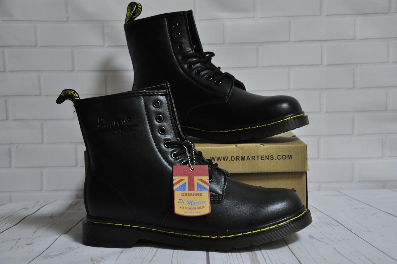 Ботинки с мехом Dr.Martens 1460 (BLACK) Размер 41 42 43 44 45
