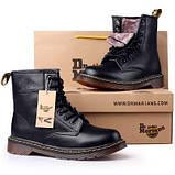 Ботинки с мехом Dr.Martens 1460 (BLACK) Размер 41 42 43 44 45, фото 2