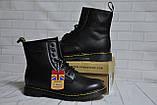 Ботинки с мехом Dr.Martens 1460 (BLACK) Размер 41 42 43 44 45, фото 6