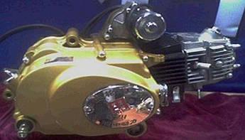 Двигатель (В сборе)  на Мопед Дельта (Deltа), на Мопед Альфа (Alphа) 50 см³ (Механическая коробка передач