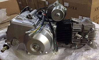 Двигатель (В сборе)  на Мопед Дельта (Deltа), на Мопед Альфа (Alphа) 90 см³ (Автоматическая коробка передач