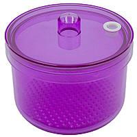 Контейнер для дезинфекции маникюрных фрез фиолетовый - 200 мл