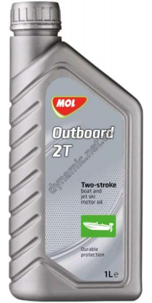Масло 2Т Двухтактное, 1л (минеральное, 2-Takt Outboard) MOL (#GPL)