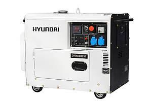 Дизельный генератор 6 кВт Hyundai Diesel DHY 8000SE (Бесплатная доставка по Украине)