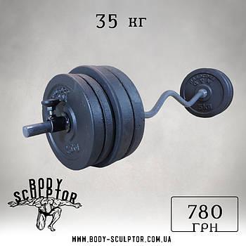 Штанга W-подібним грифом   35 кг
