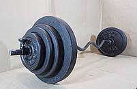 Штанга W-подібним грифом   44 кг, фото 3